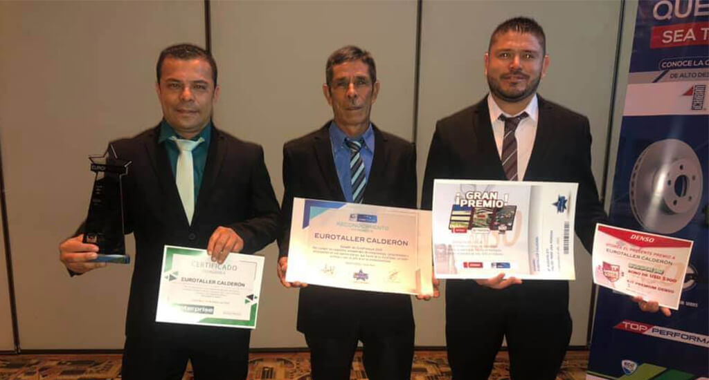 Galardón al Mejor EuroTaller de Costa Rica 2019